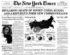 End of USSR_NYT